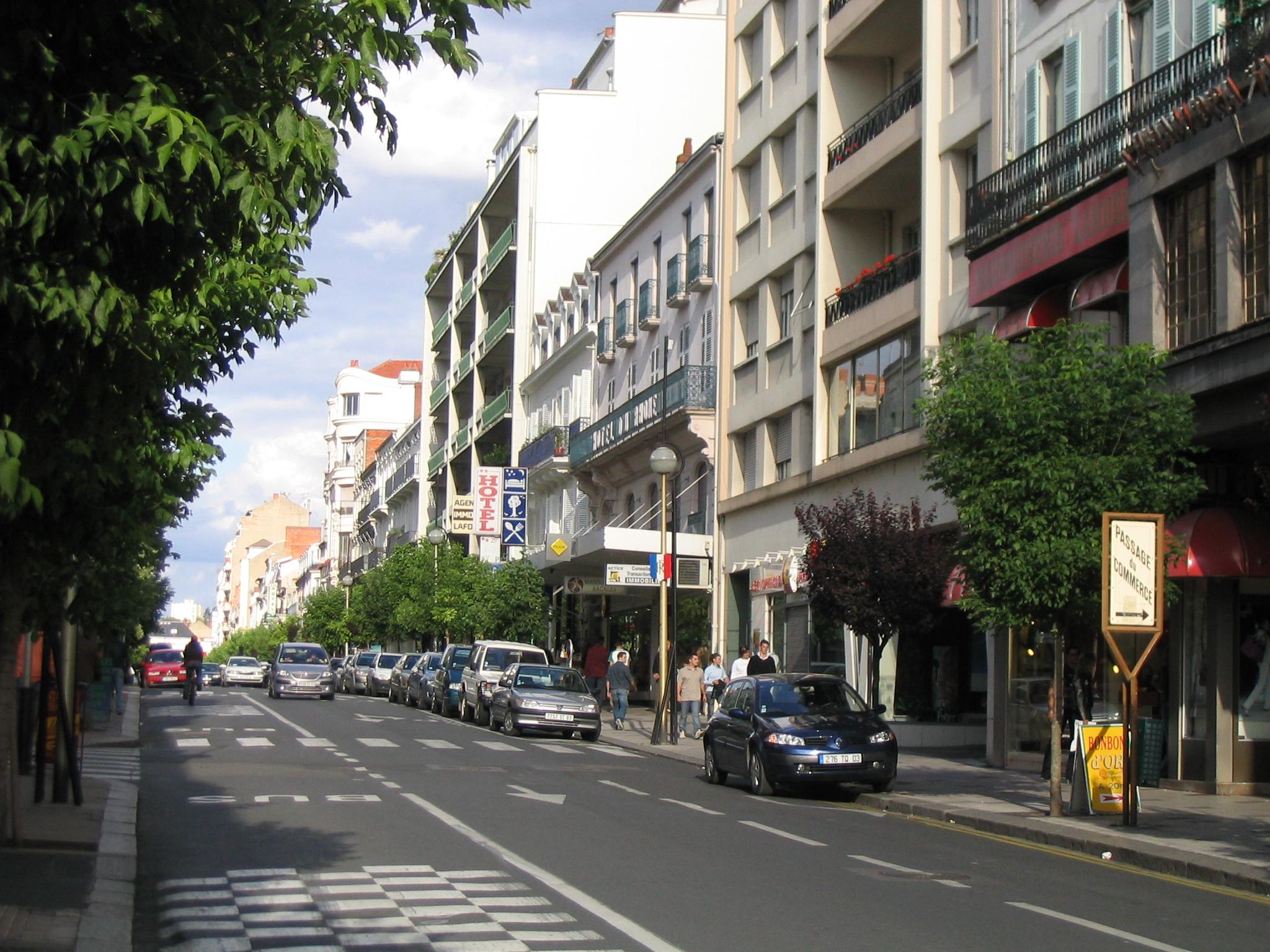 Free Renovation Software File Rue De Paris Vichy Jpg Wikimedia Commons