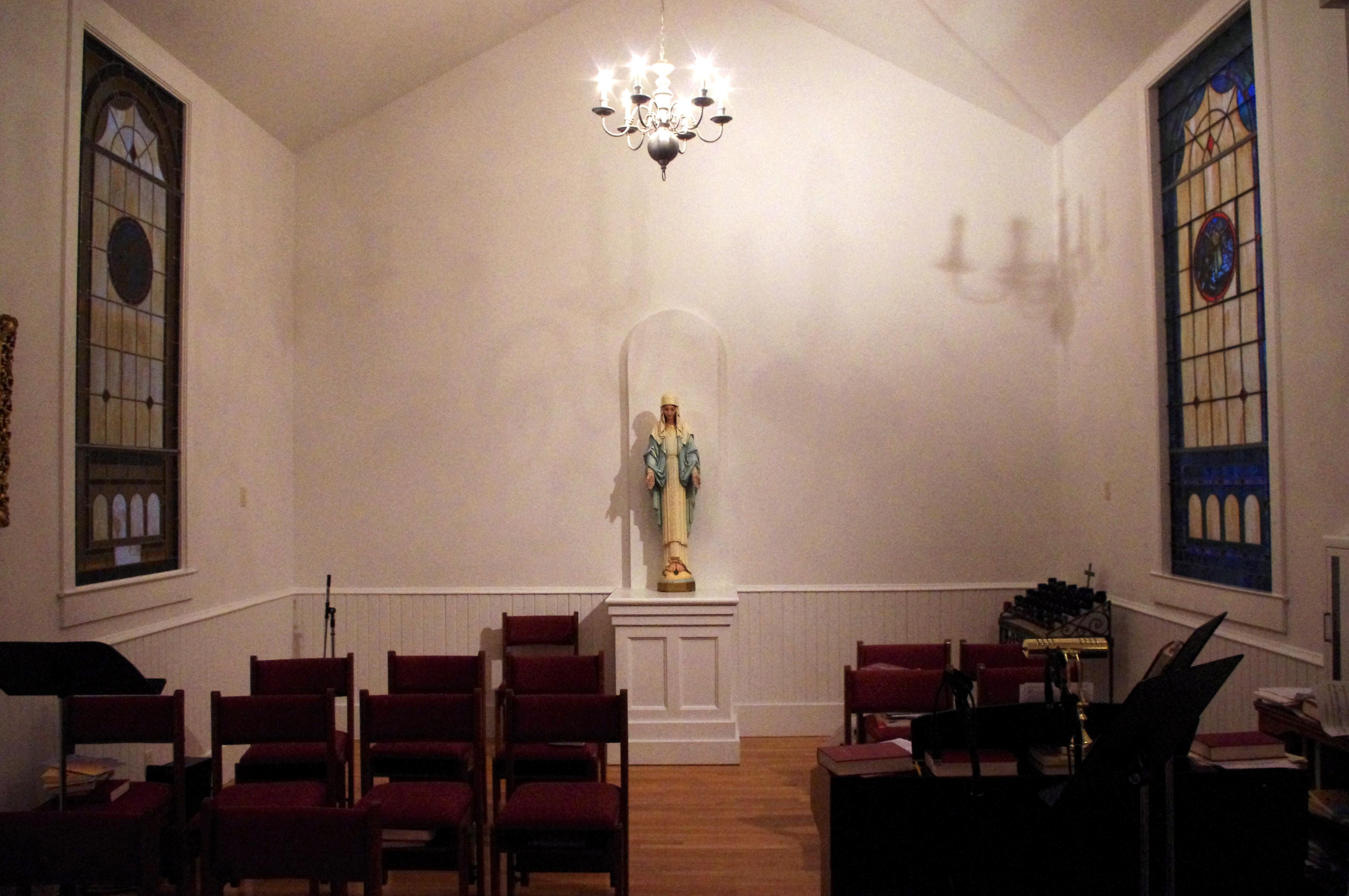 File Saint Gerard Majella Catholic Church Fort Oglethorpe Georgia Interior Transcept And