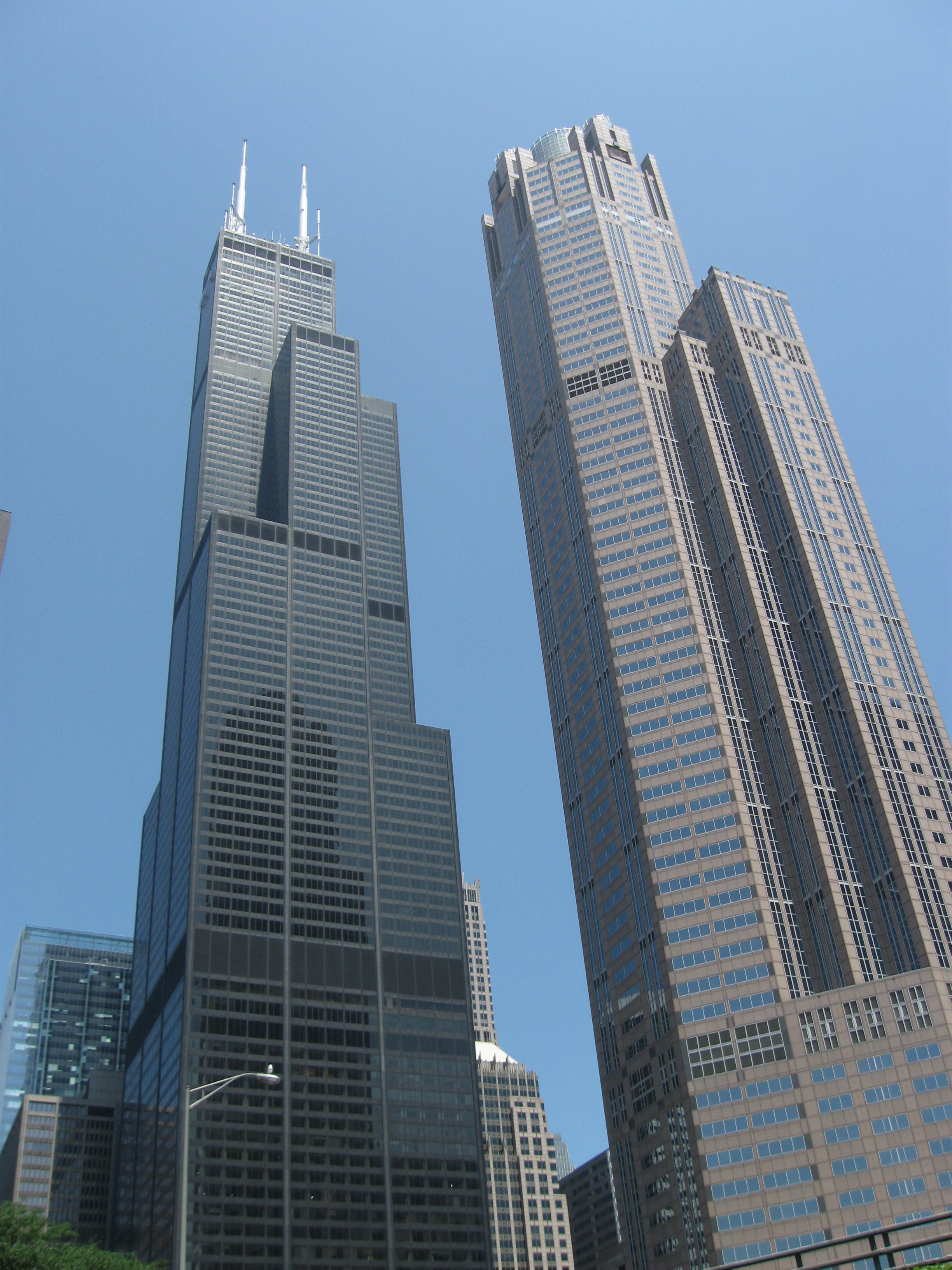 File Sears Tower From Chicago River On July 5