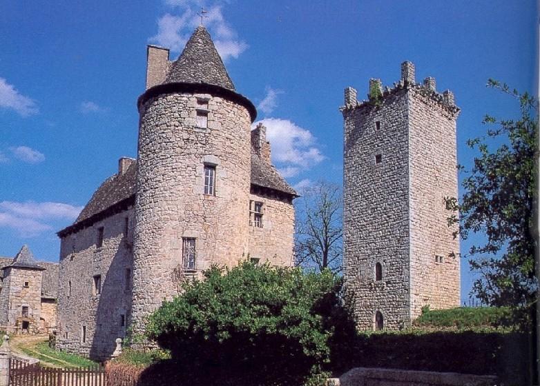 Senergues, le château