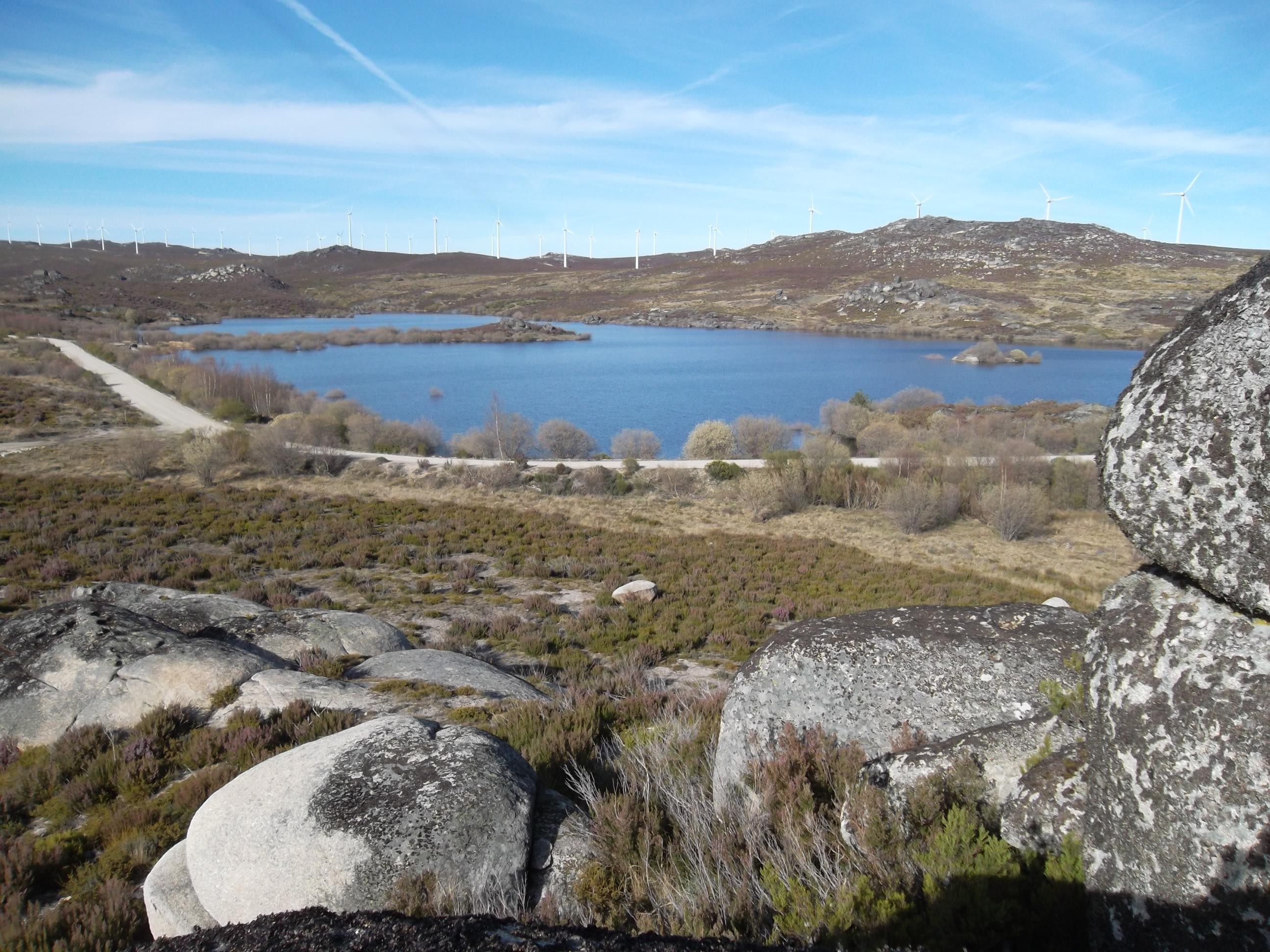 File serra serrada reservoir montesinho natural park - Natura portugal ...