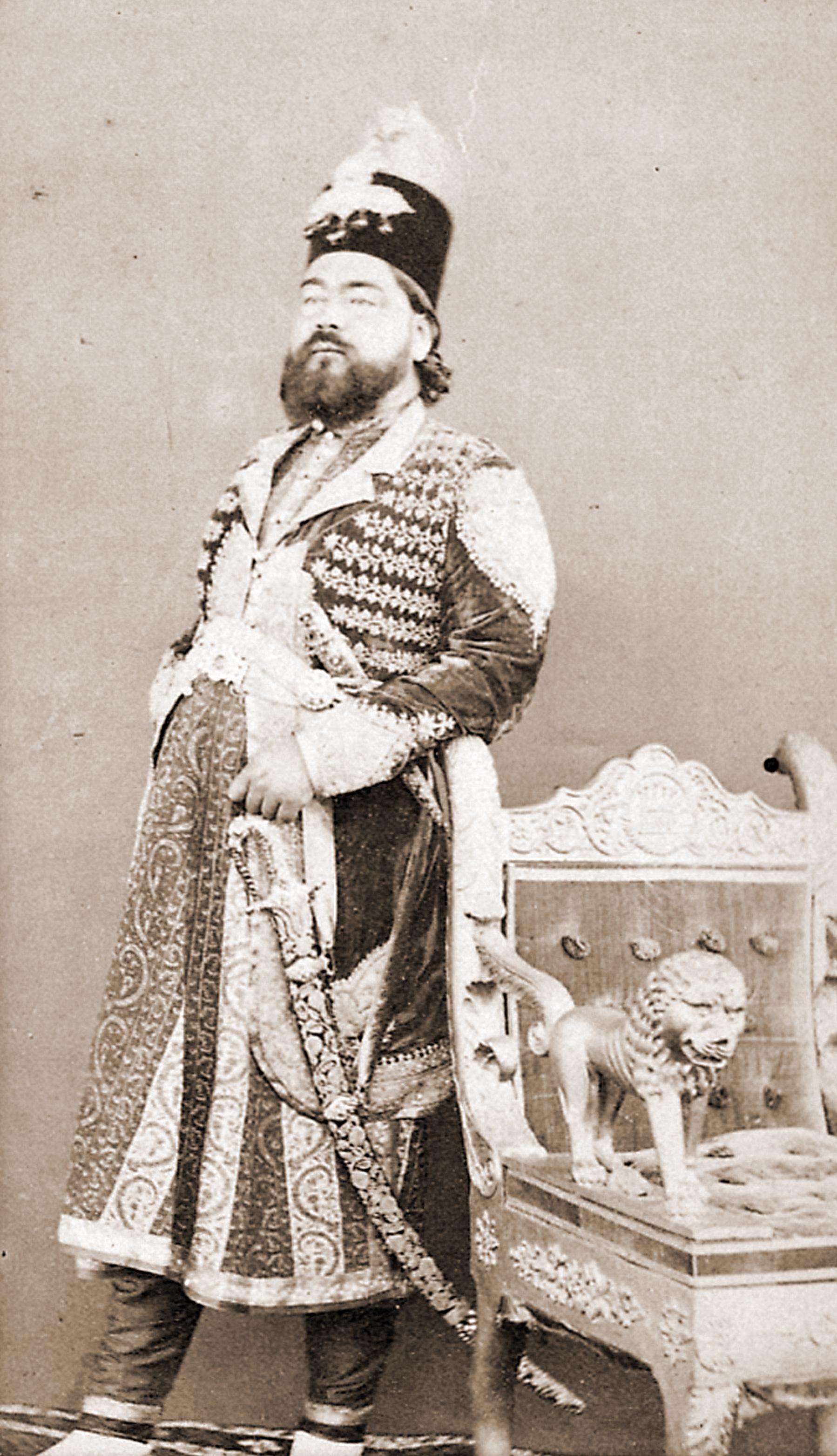 Ali Stock Chart: Sir Kalb Ali Khan Nawab of Rampur (1832-1887).jpg ,Chart