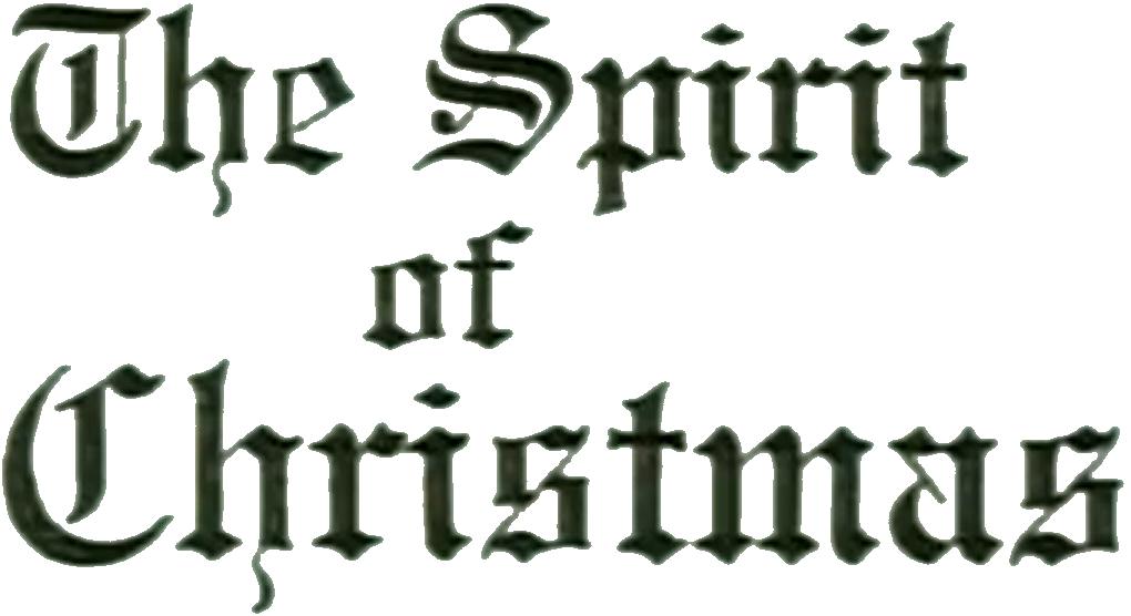 The spirit of christmas south park