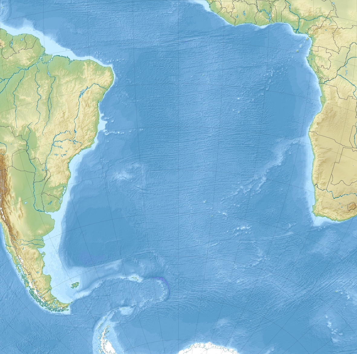 FileSouth Atlantic Ocean laea relief location mapjpg  Wikimedia