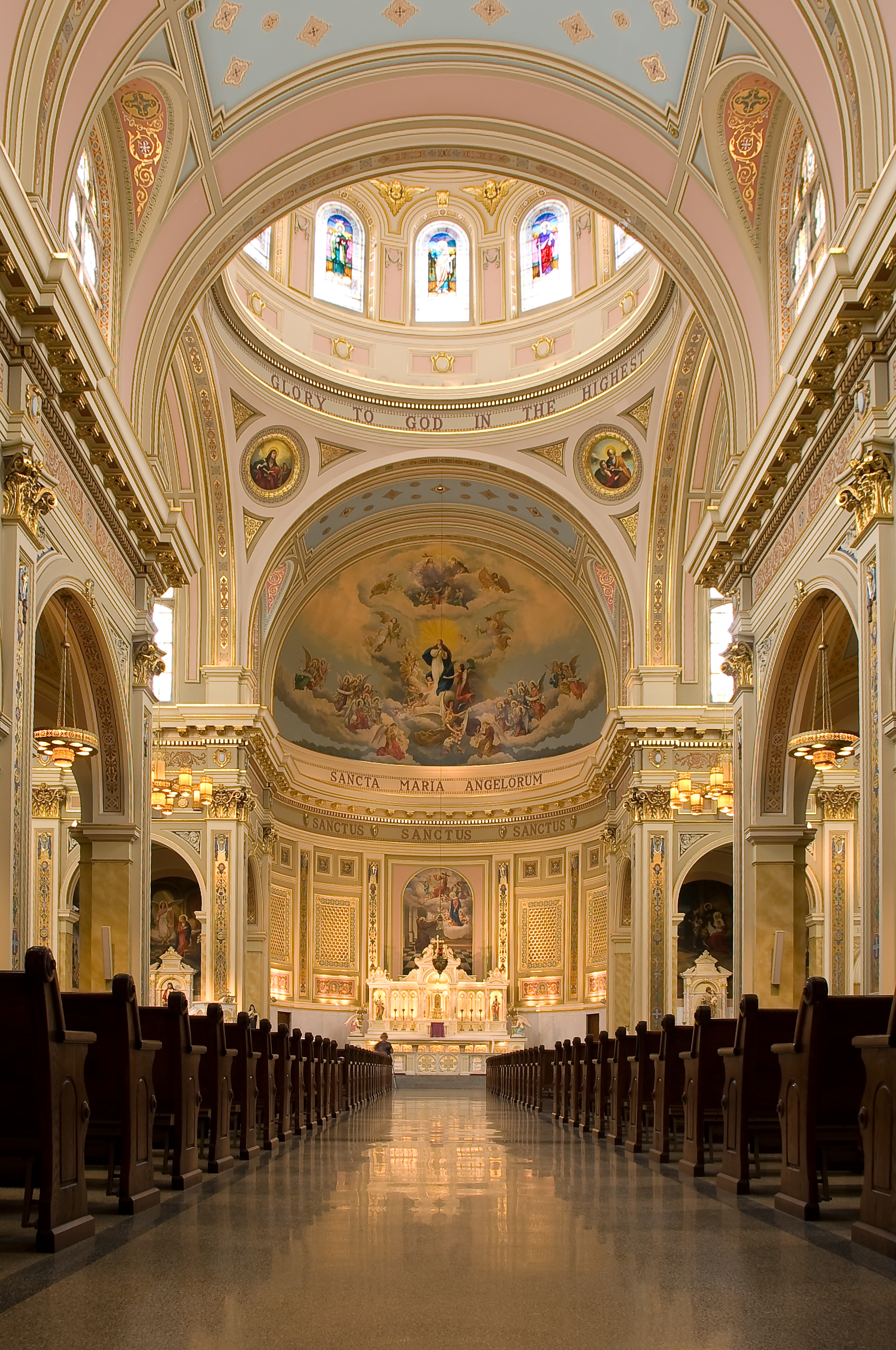 File:St Mary of the Angels interior 090307.jpg - Wikimedia ...