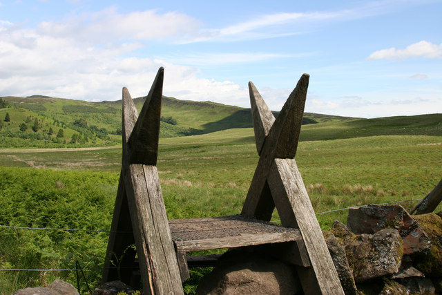 Stile on the Rob Roy Way - geograph.org.uk - 194749