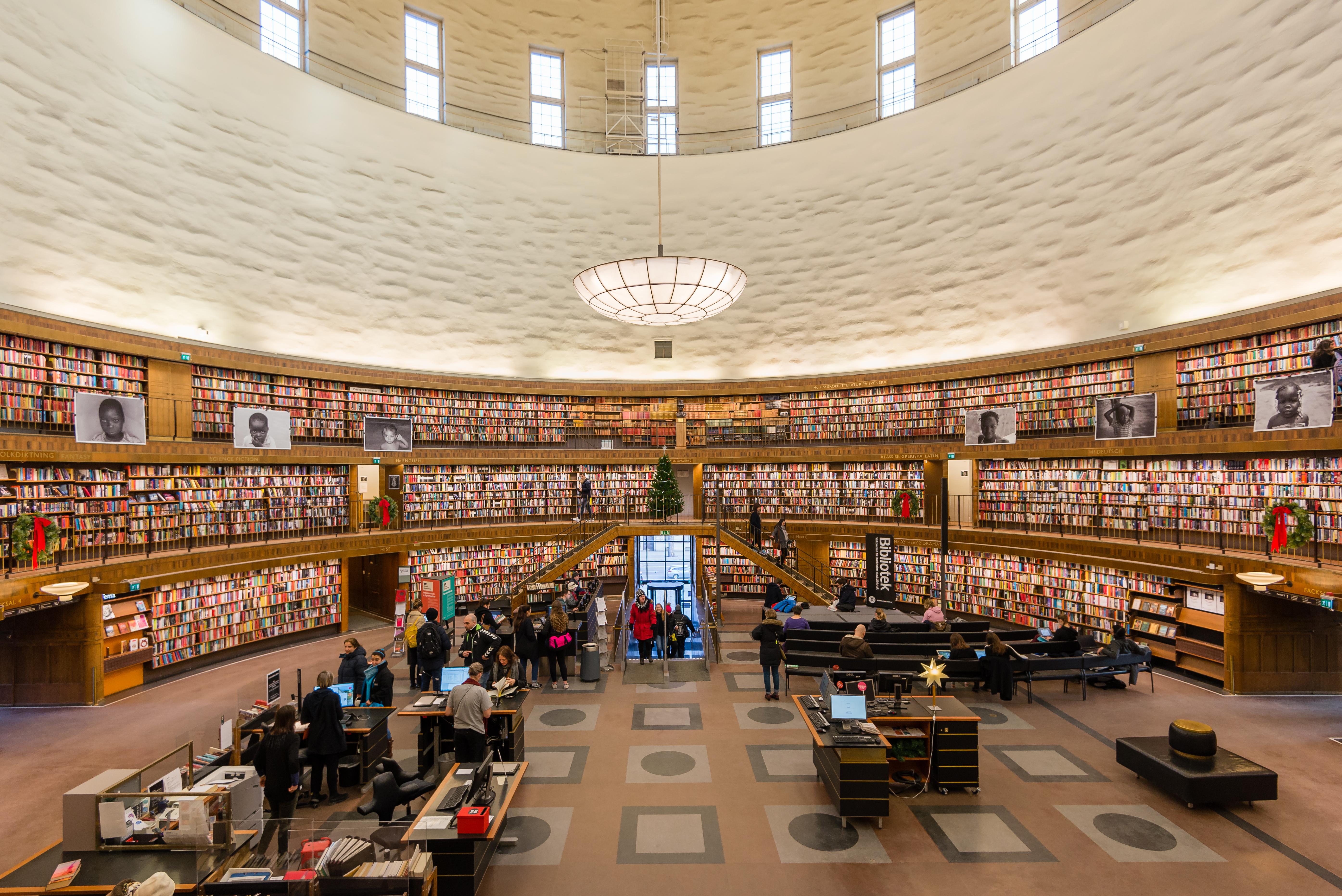 Biblioteket bygger ut