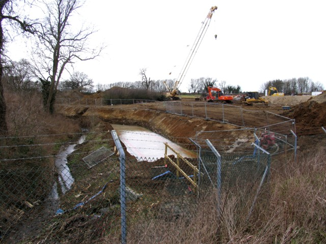 Stream to drainage ditch in one easy lesson - geograph.org.uk - 690332.jpg