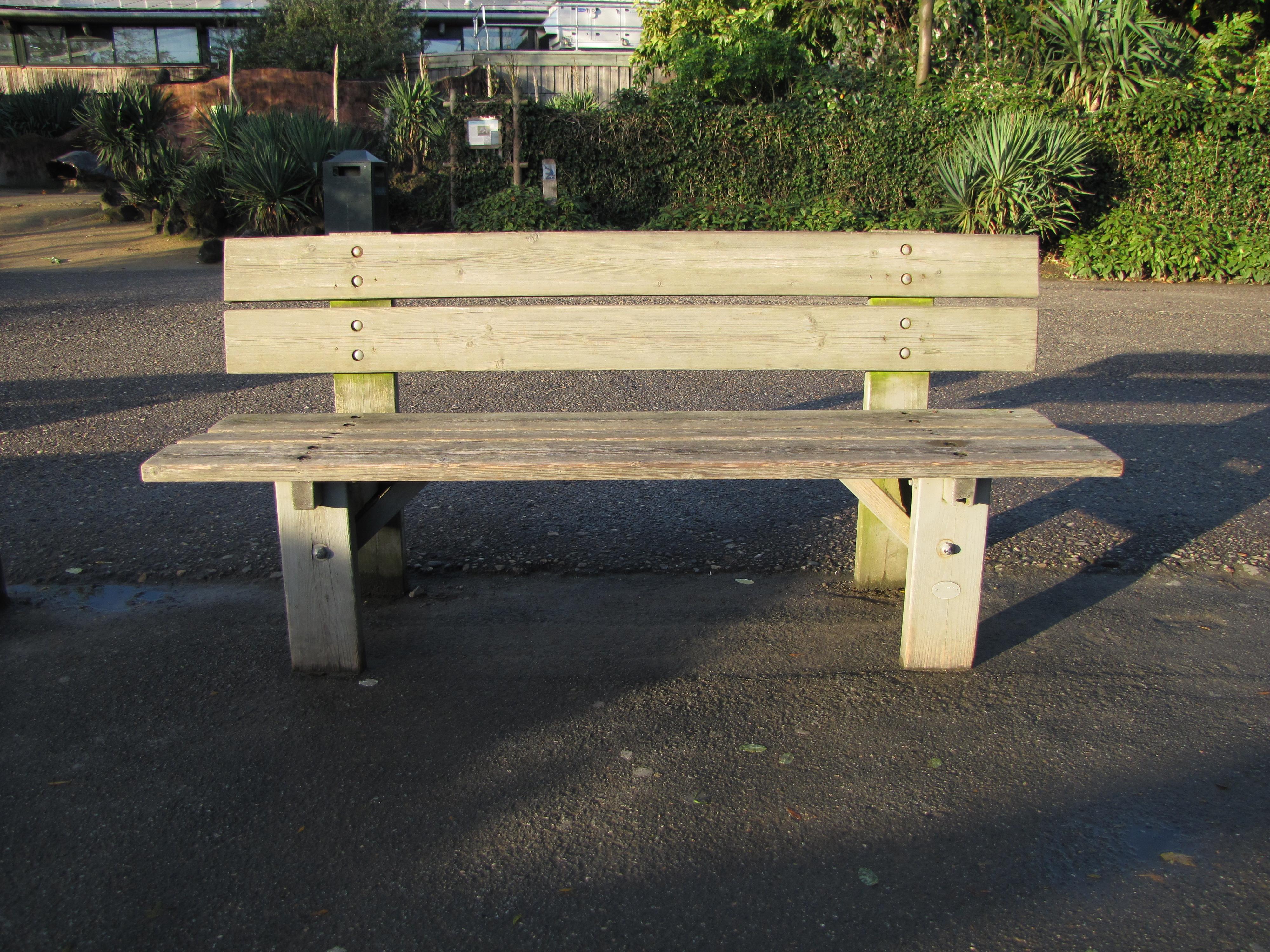 filestreet bench diergaarde blijdorp rotterdam