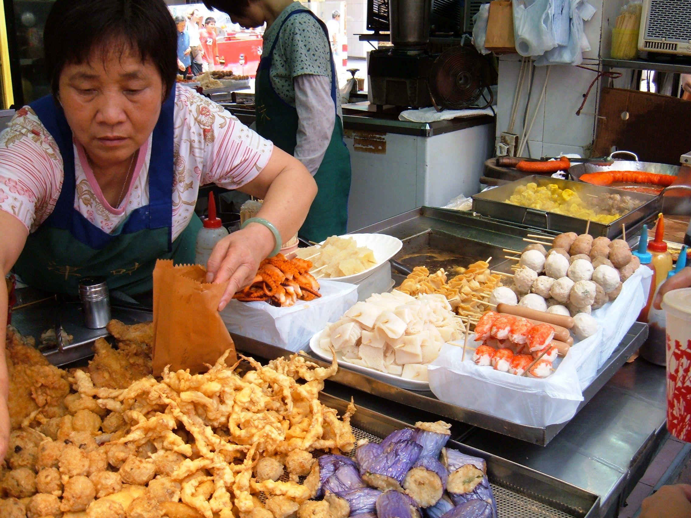 Food street bangkok