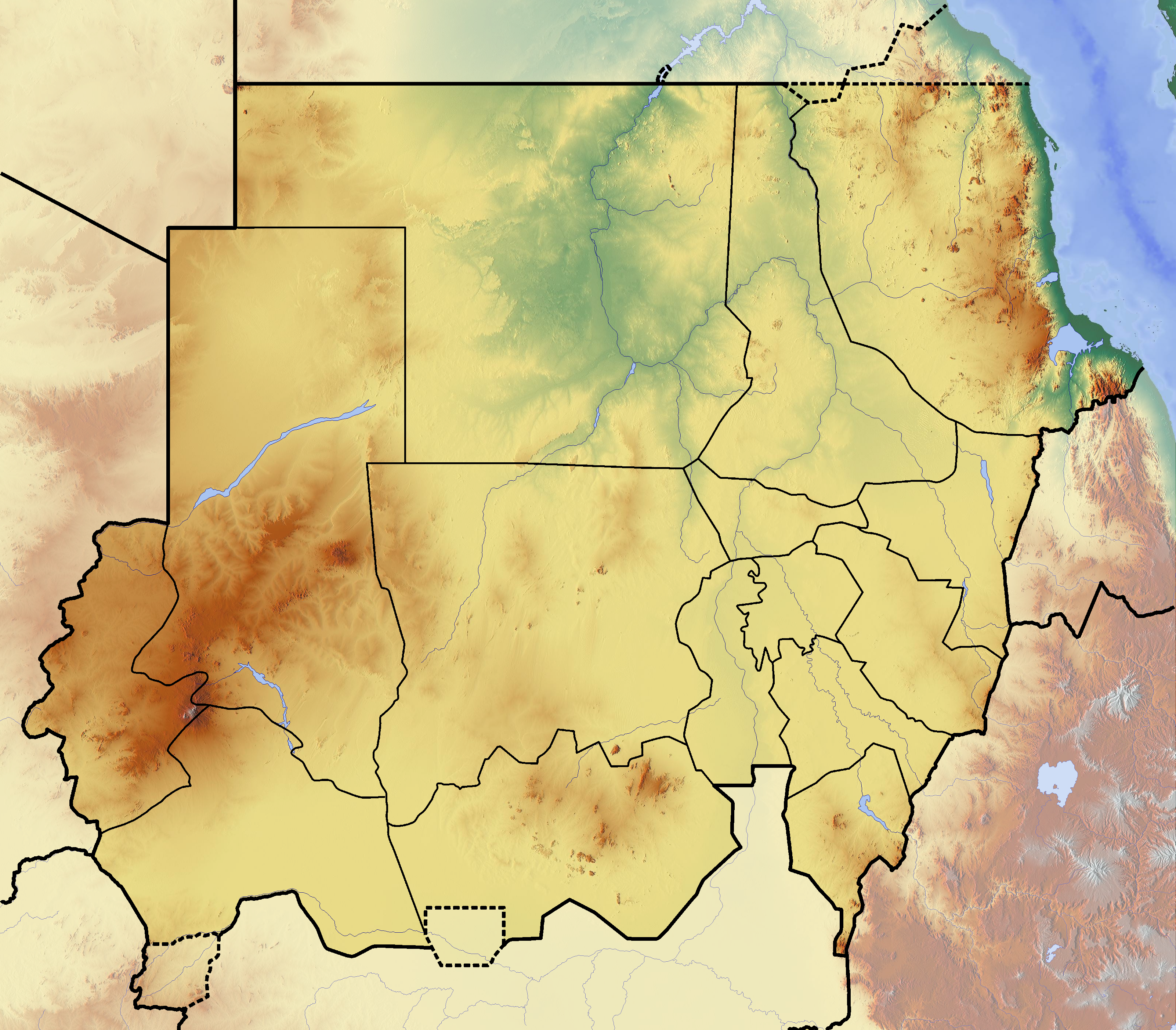 File:Sudan location map Topographic.png - Wikimedia Commons