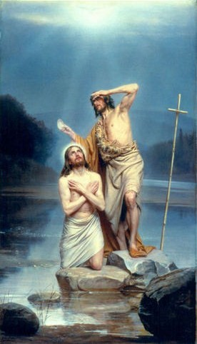 The Baptism of Christ - Carl Heinrich Bloch