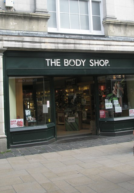 File:The Body Shop in Winchester High Street - geograph org uk