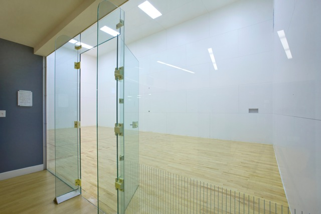 Racquetball Court Construction