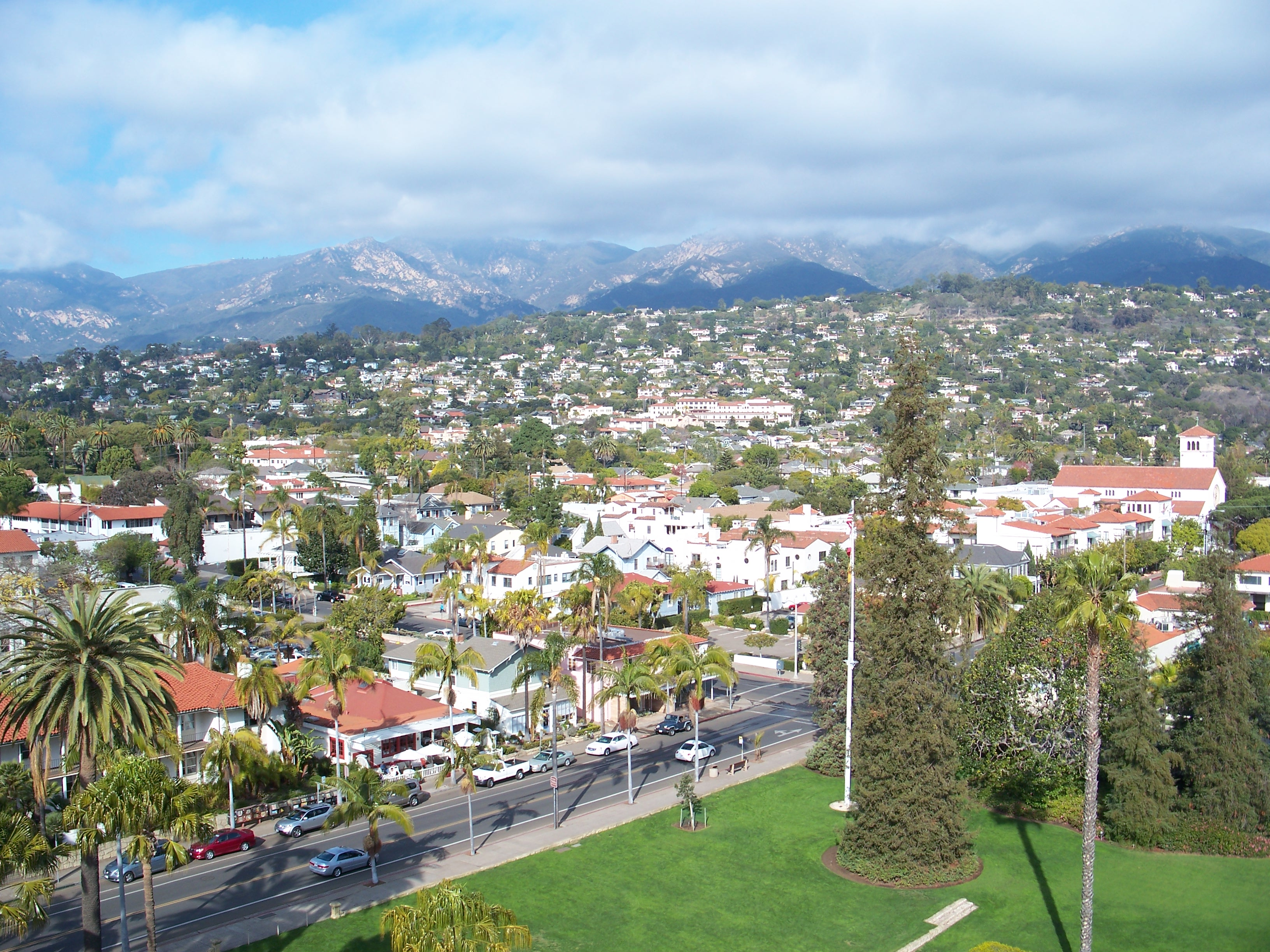 santa barbara romantic west coast road trip