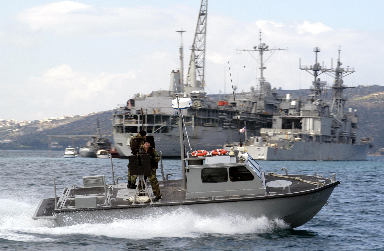 Next Navy Boat Shoes Mens