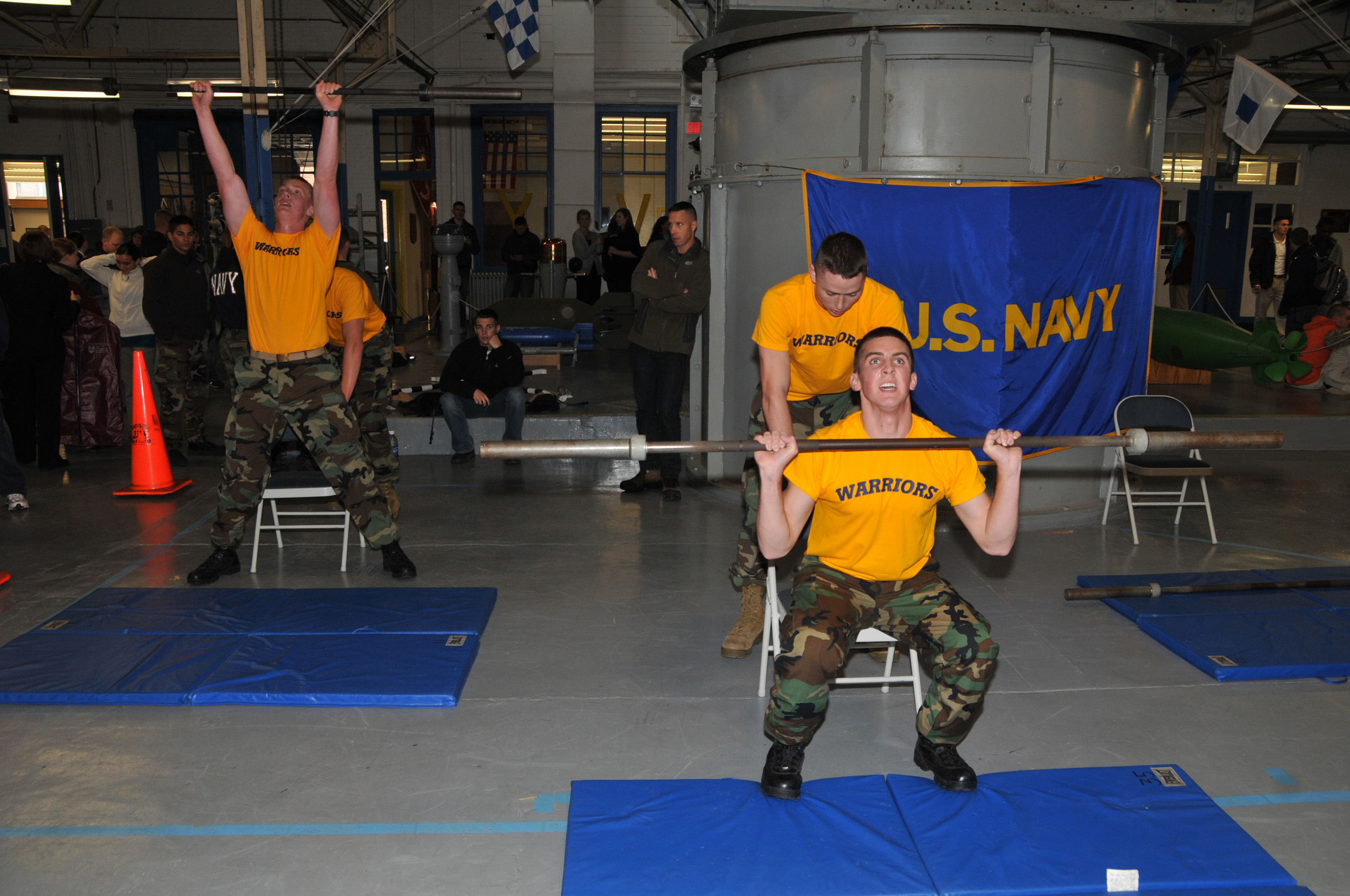 File:US Navy 091010-N-8848T-888 Marquette University Naval ROTC ...