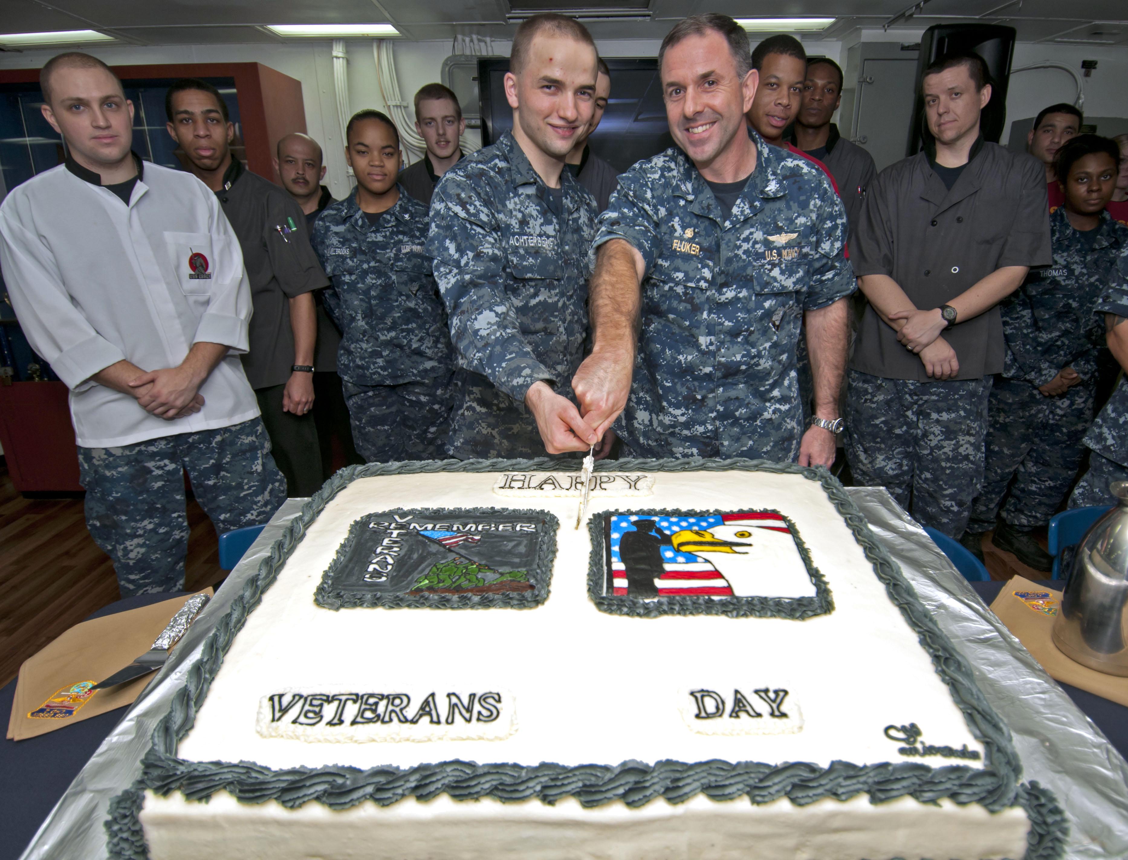 Veterans Day Cake Design