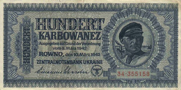 UkraineP55-100Karbowanez-1942-donatedmjd f.jpg
