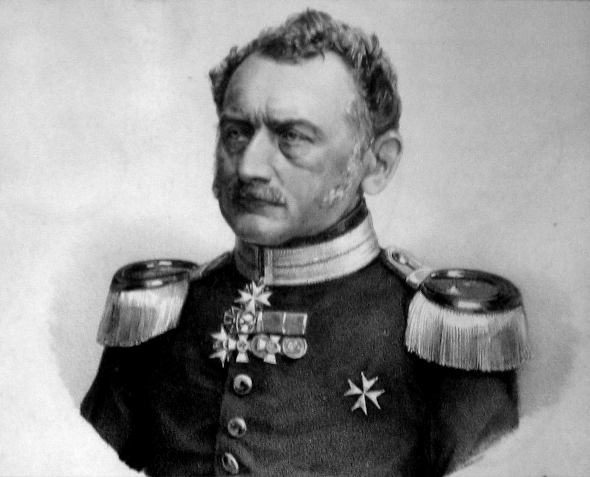 Moritz Karl Ernst von Prittwitz und Gaffron, war der Festungsbaudirektor in UIm.