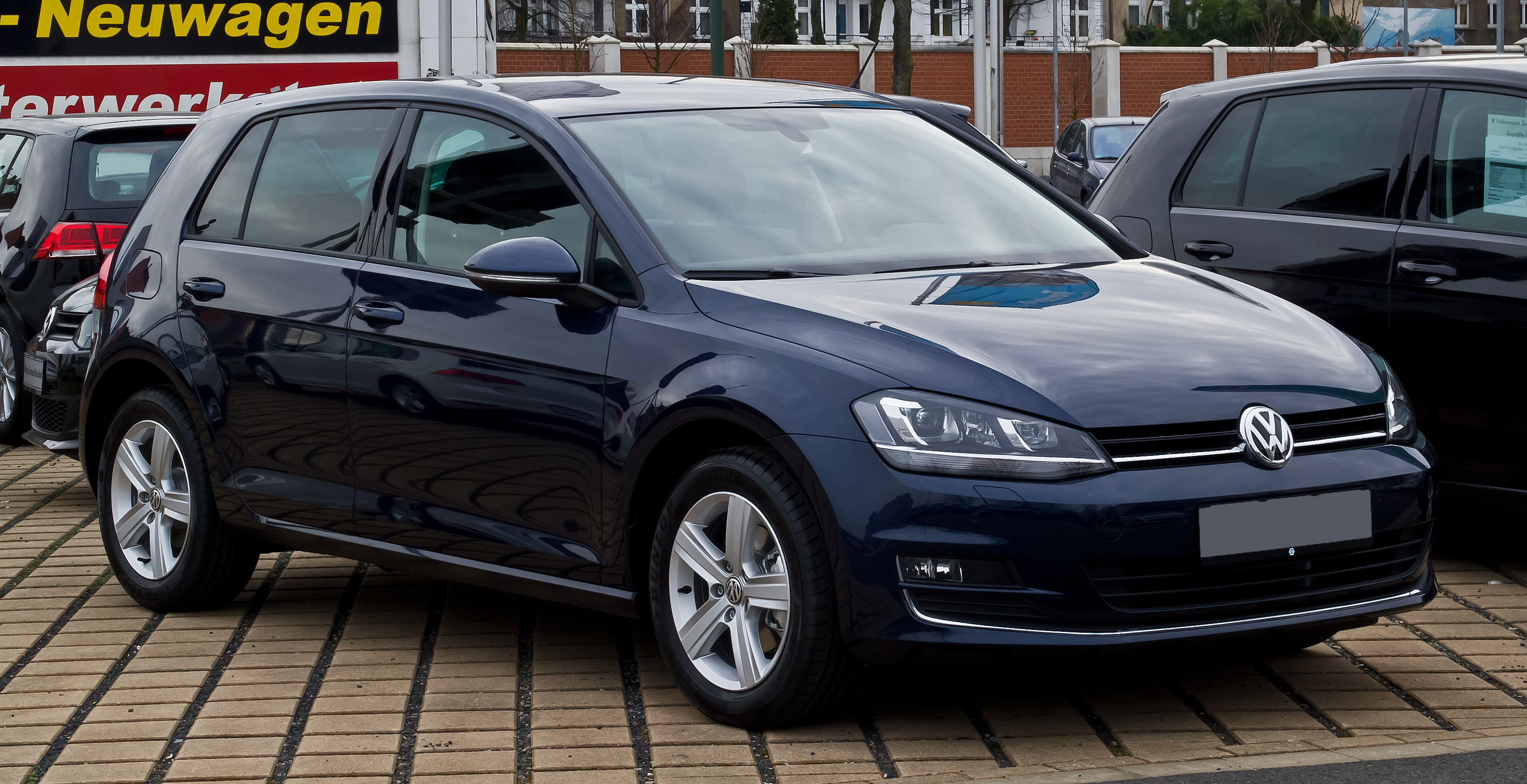 File vw golf 1 4 tsi bluemotion technology highline vii frontansicht 11 februar 2013 - Entraxe golf 4 ...