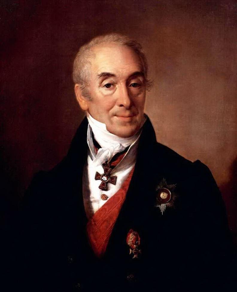 портрет работы В.А.Тропинина, 1828