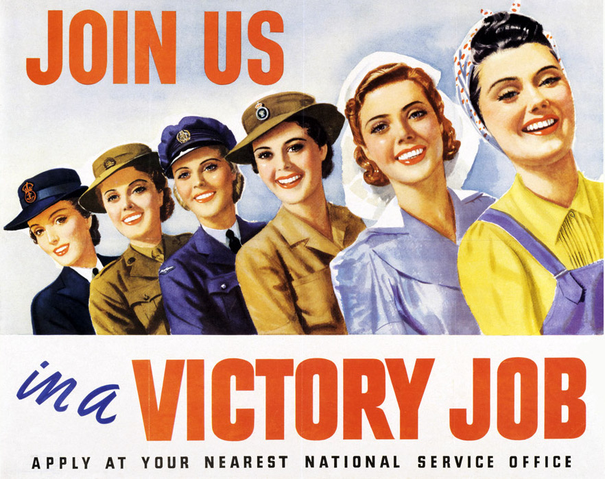 how did womens role change during world war 2