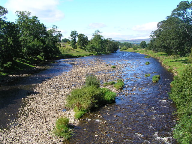 View of river from Lords Bridge - geograph.org.uk - 540991