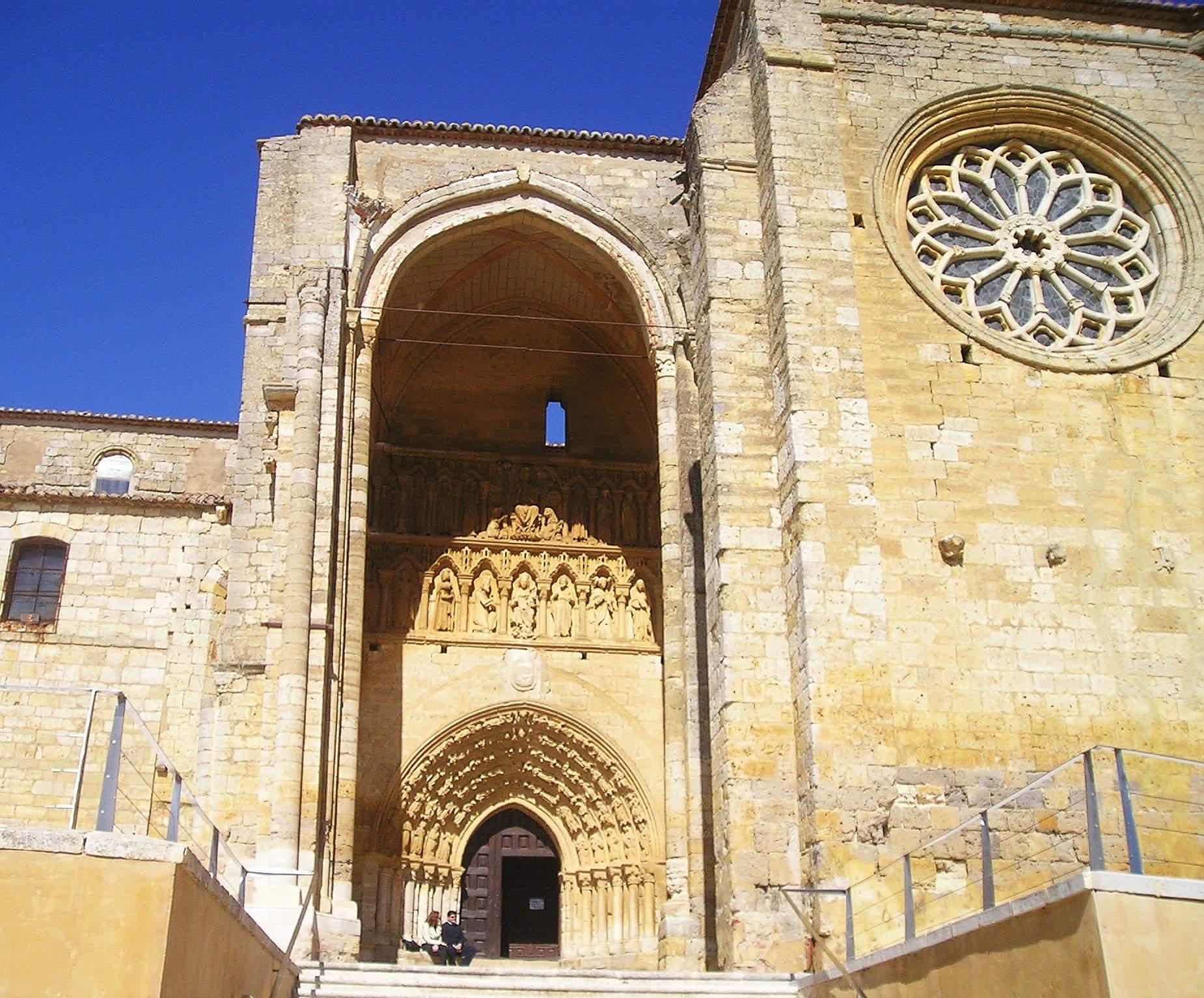 Iglesia de Santa María la Blanca (Villalcázar de Sirga) - Wikipedia, la encic...