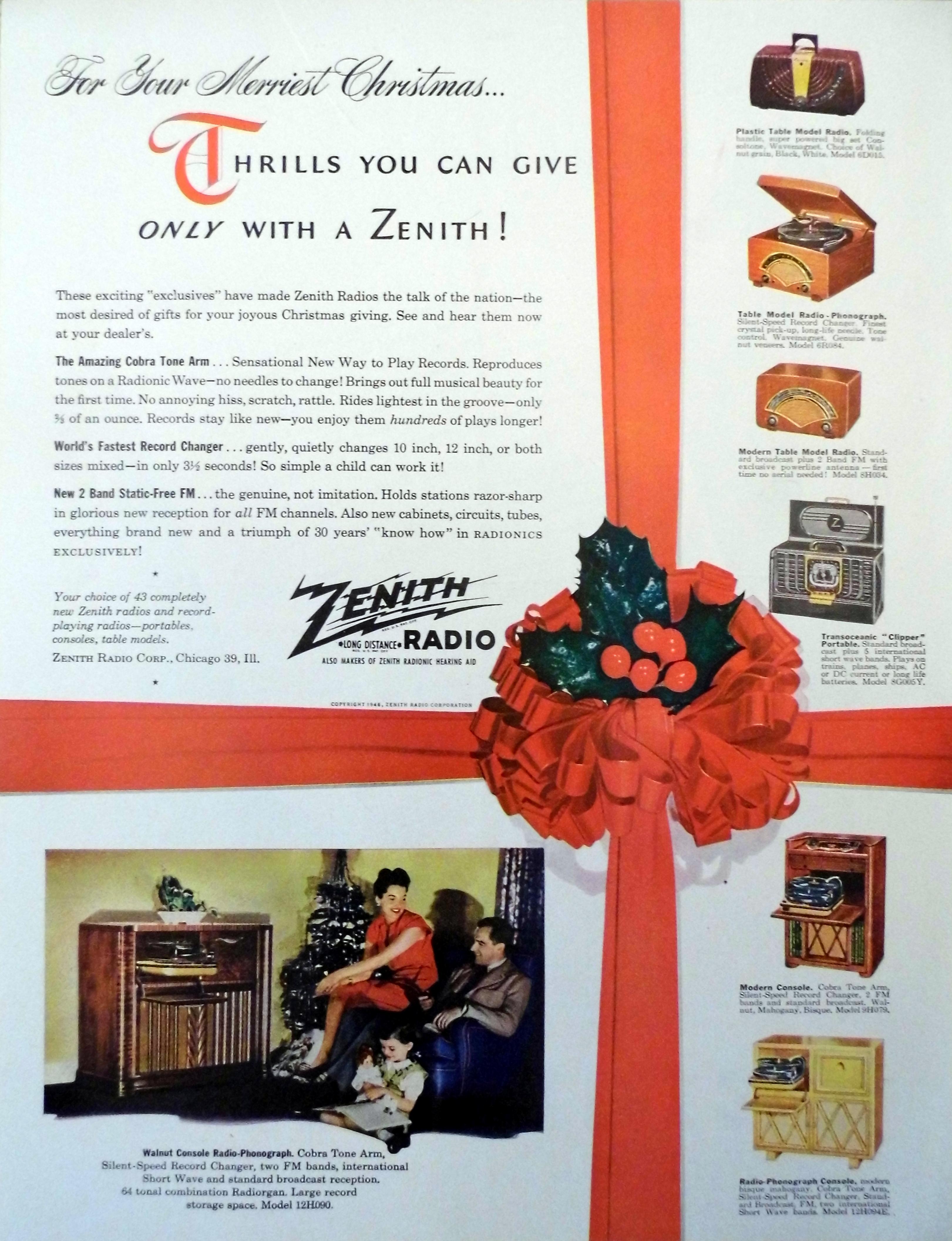 File:Vintage Radio Advertising - Zenith Radio,