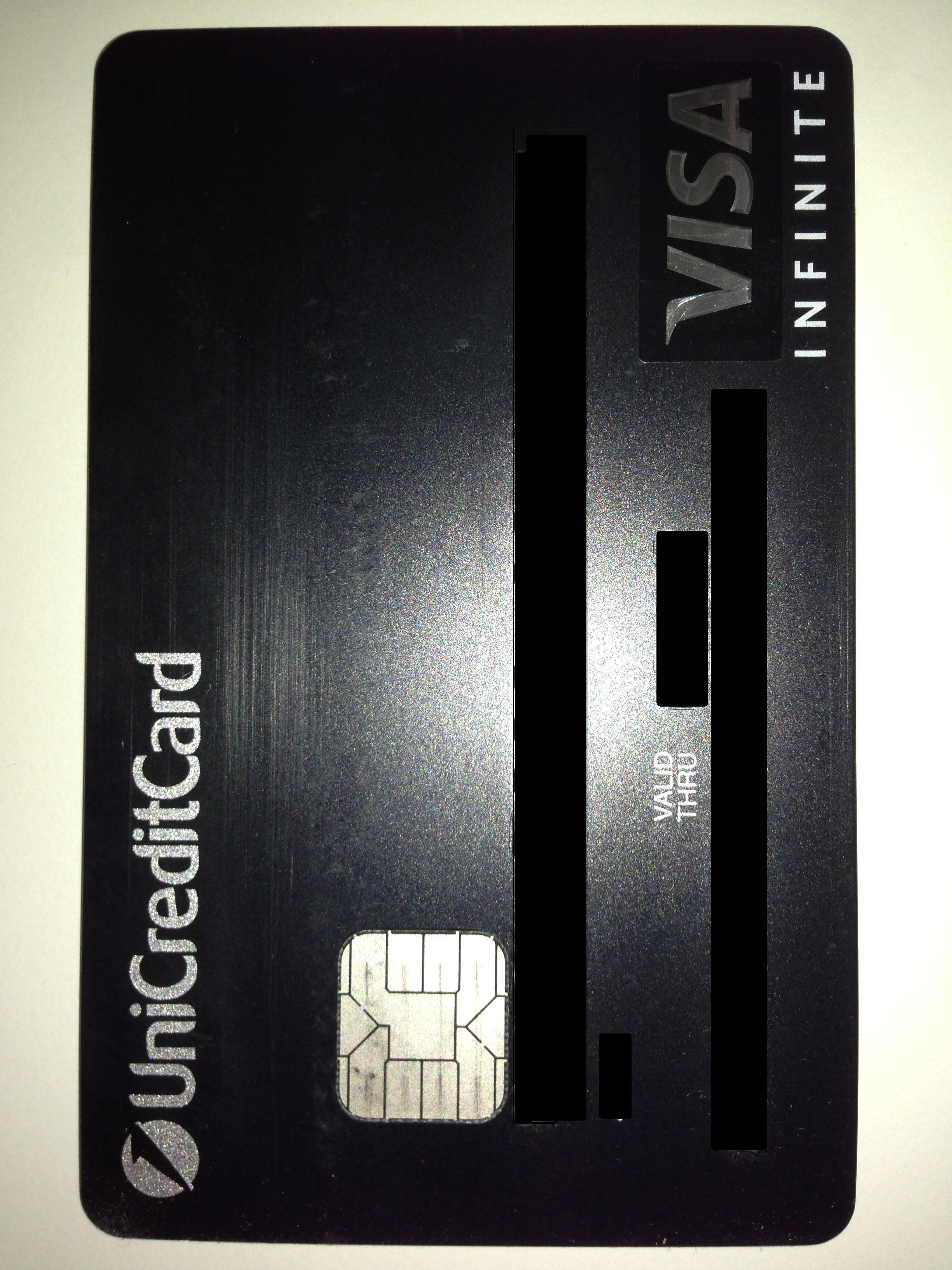 Visa Infinite Deutschland