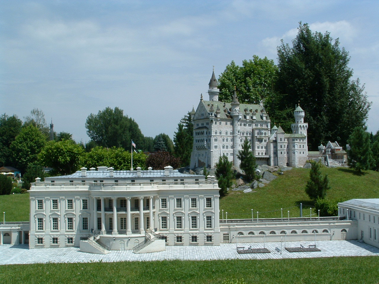 file white house neuschwanstein models minimundus jpg wikipedia. Black Bedroom Furniture Sets. Home Design Ideas