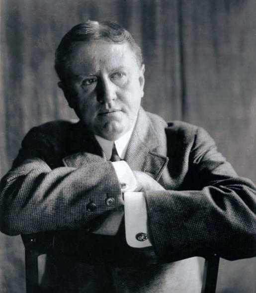 Portrait of O. Henry, by W. M. Vanderweyde, 1909