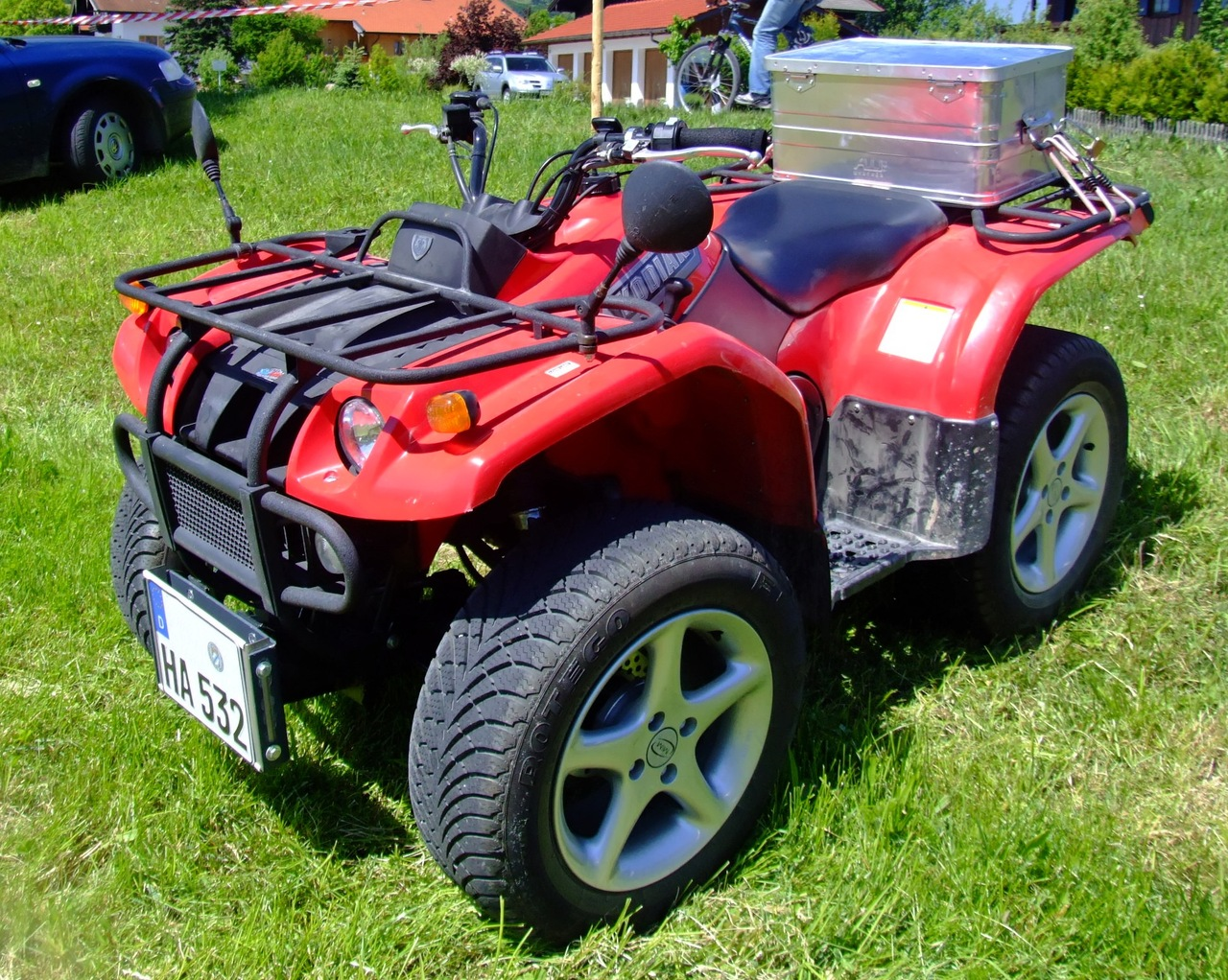 Quad Yamaha Grizzly