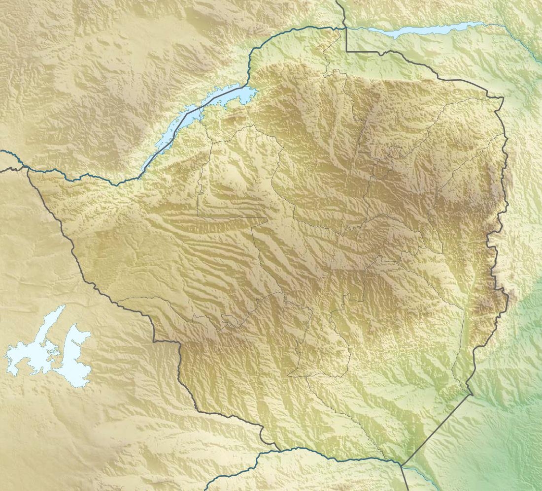FileZimbabwe relief location mapjpg Wikimedia Commons