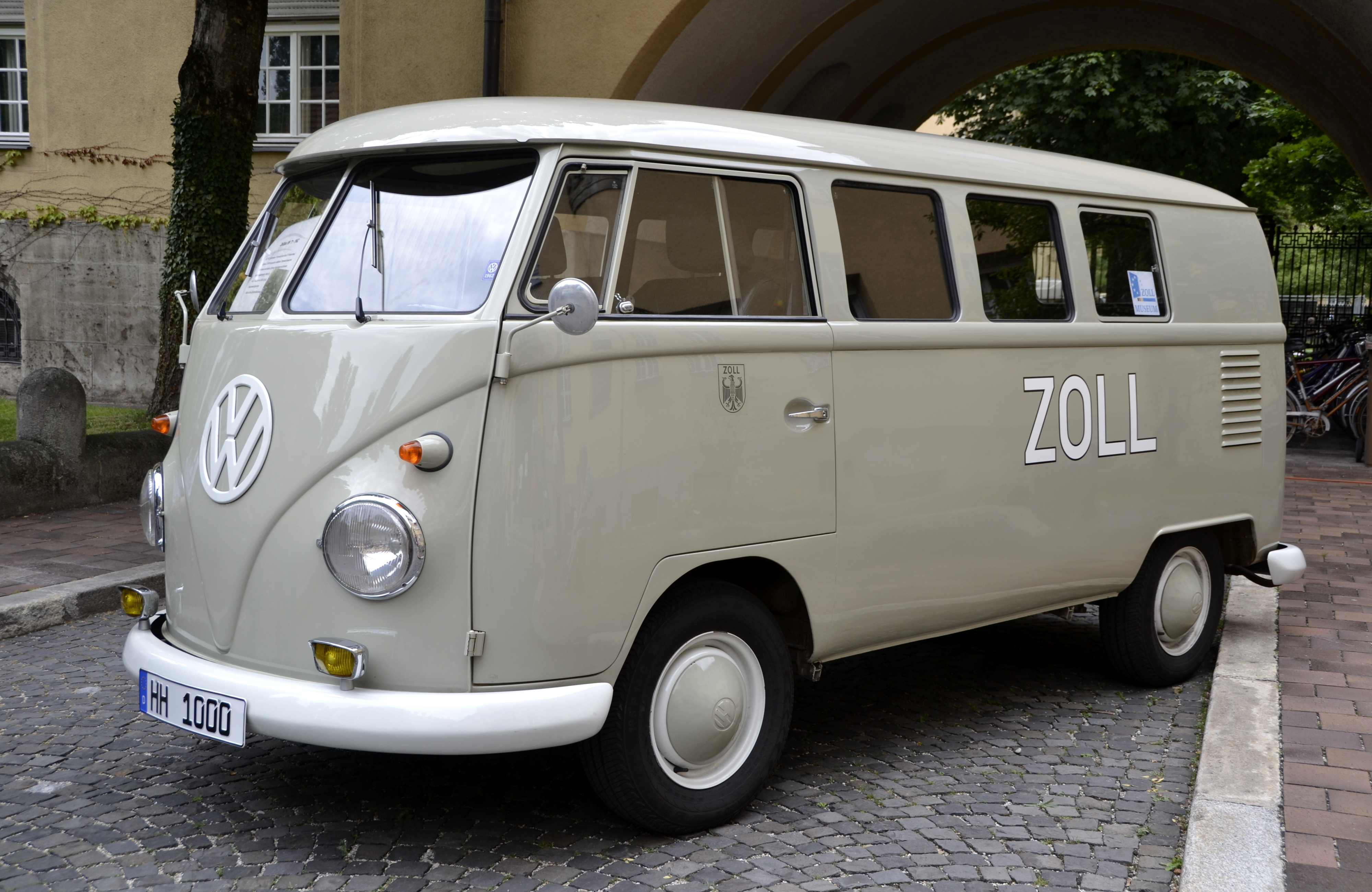 file zollbus vw t1 from 1962 jpg wikimedia commons. Black Bedroom Furniture Sets. Home Design Ideas