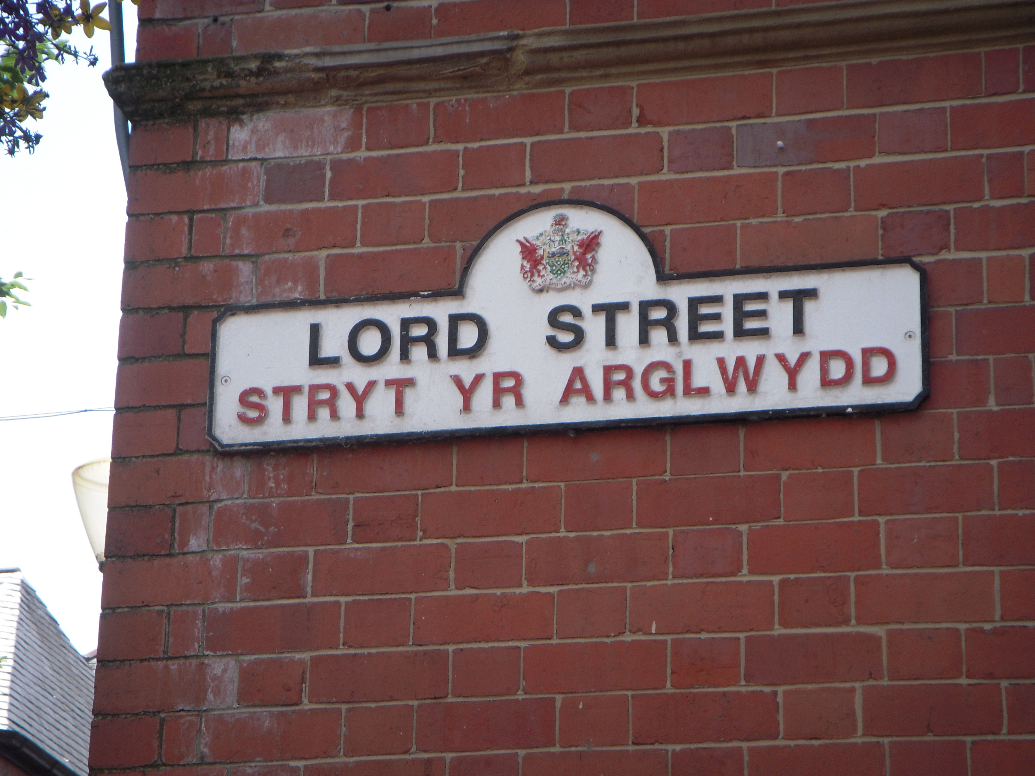 Wrexham fc Racecource Ground Metal Street Sign 2 Sizes Available football