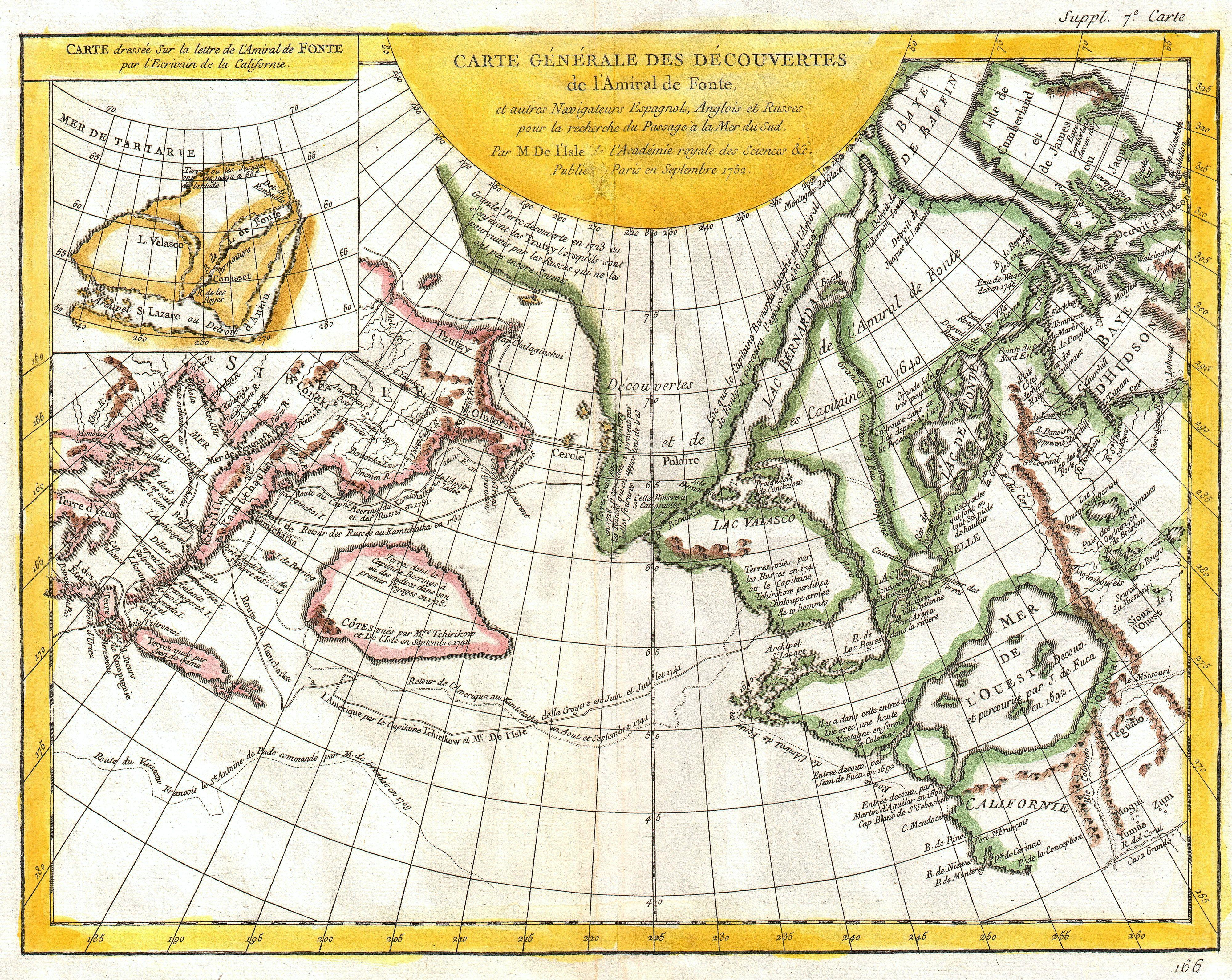 File:1772 Vaugondy and Diderot Map of the Pacific Northwest and the ...