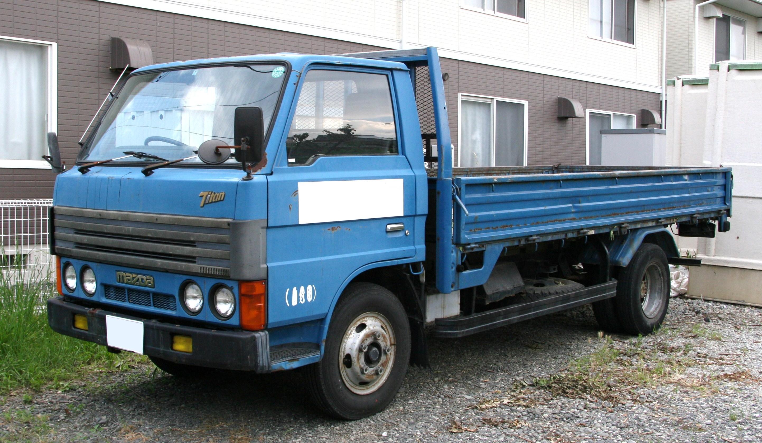 Mazda Titan truck
