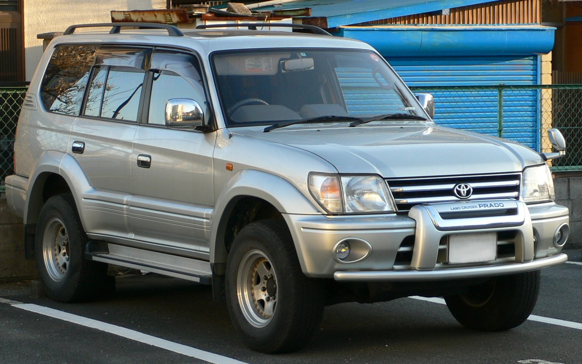 file 1996 toyota land cruiser prado wikimedia commons. Black Bedroom Furniture Sets. Home Design Ideas