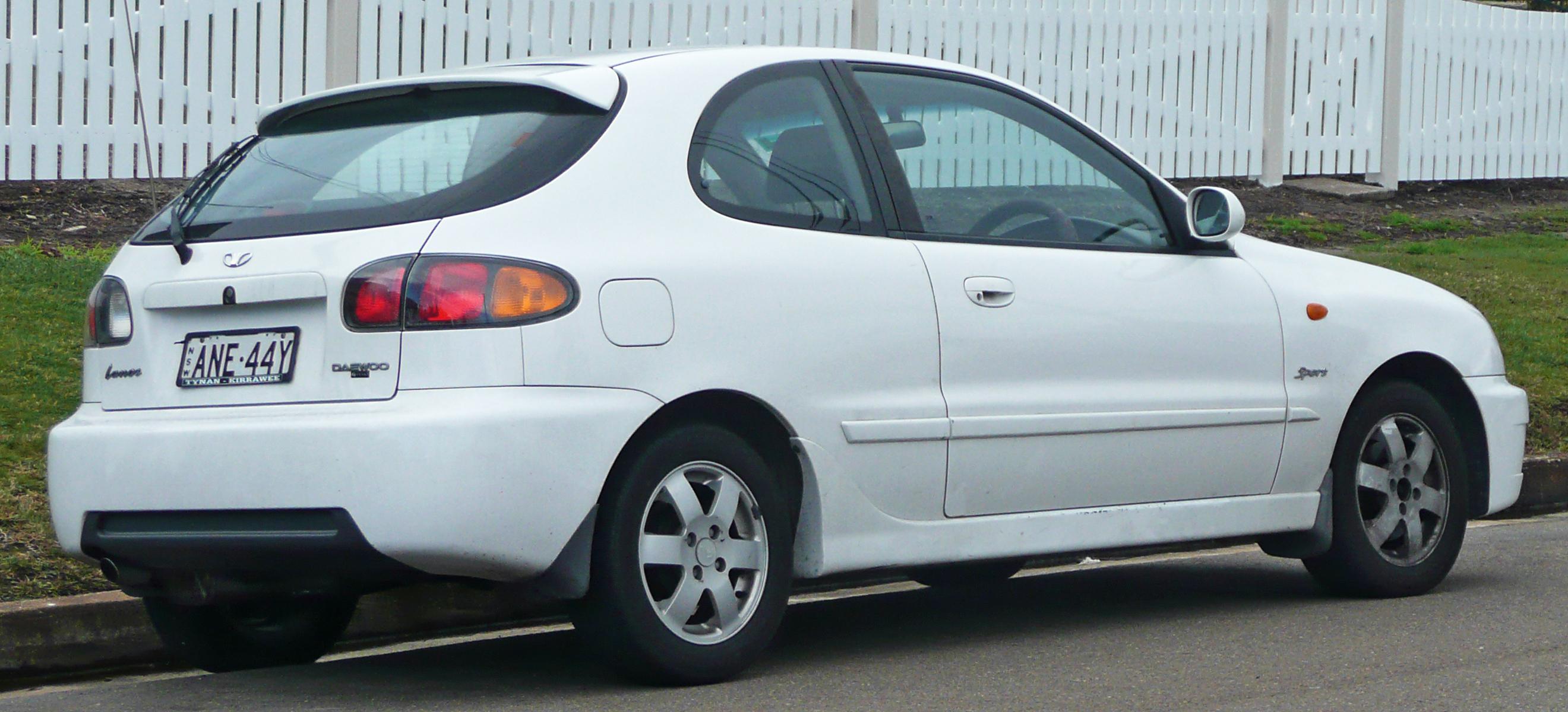 Daewoo Lanos T Sport Door Hatchback