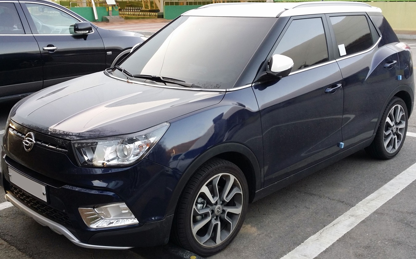 What Is A Crossover Suv >> SsangYong Tivoli — Wikipédia