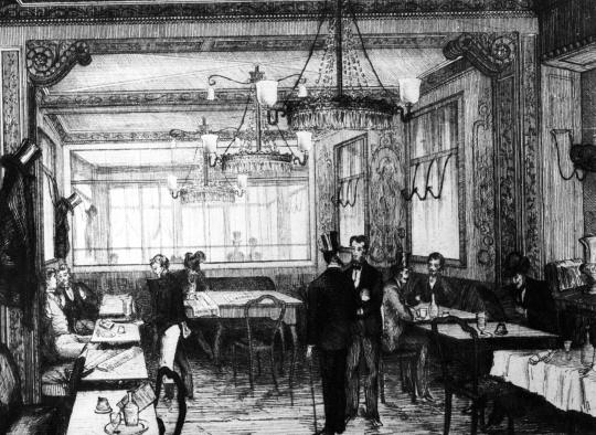 Old Faithful Cafe Menu