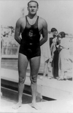 """Resultado de imagen de """"Oszkár Abay-Nemes"""" swimmer"""