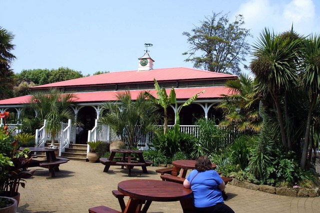 Abbotsbury Tropical Gardens cafe - geograph.org.uk - 1257227