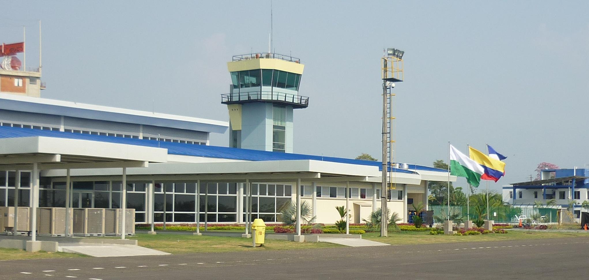Imagen del aeropuerto de apartado