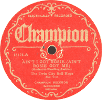 Twin City Bellhops - Ain't I Got Rosie, 1926