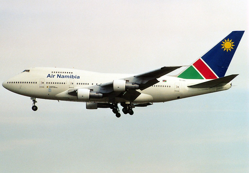 Air Namibia Seat Maps, Seating Charts, and Seat Reviews