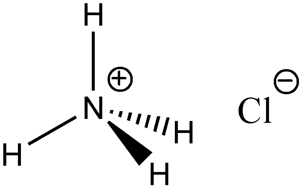 Nh4cl Lewis Structure: Ammoniumklorid