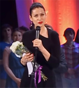 Anna Kovalchuk at the Golden Soffit award ceremony, November 2015.jpg